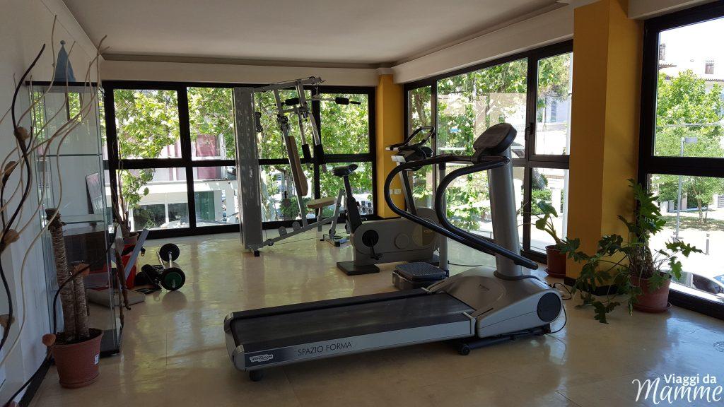 Hotel Airone Rimini: un albergo per famiglie nella Riviera Romagnola -palestra-