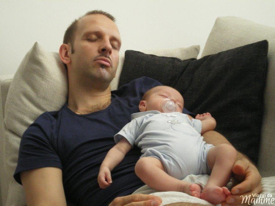 Come essere un bravo papà al giorno d'oggi -Simone e il piccolo Andrea-