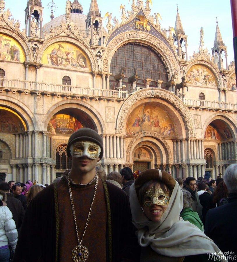 Dove festeggiare il Carnevale con i bambini in Italia -la nostra collaboratrice Valeria a Venezia-