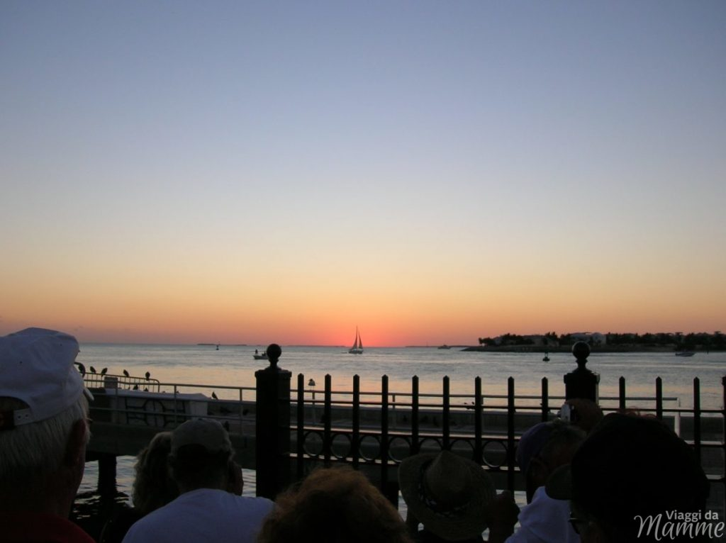 Florida con bambini: Miami e Key West più Disney World -tramonto a Mallory Square-