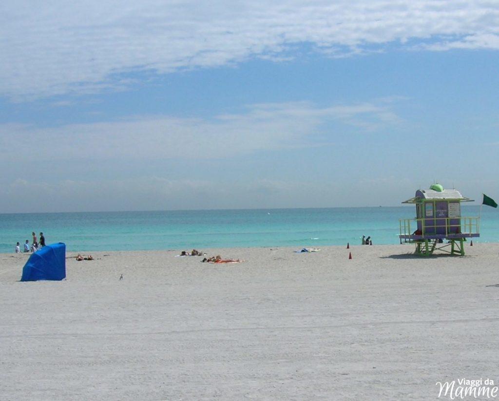 Florida con bambini: Miami e Key West più Disney World -Spiaggia Miami Beach-