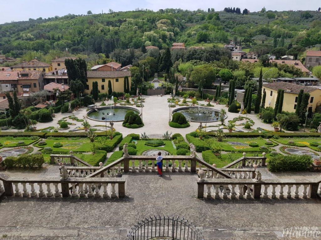 Vacanza in Versilia con bambini: cosa fare a Viareggio e dintorni -Lo Storico Giardino di Villa Garzoni-