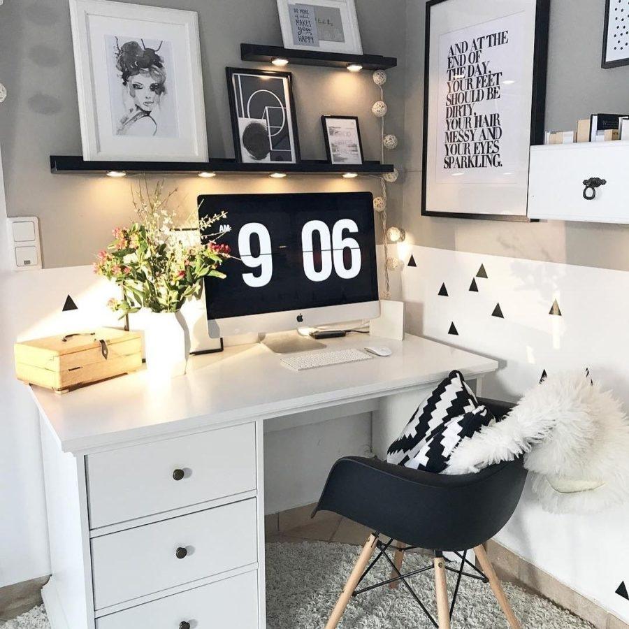 creare l'angolo studio
