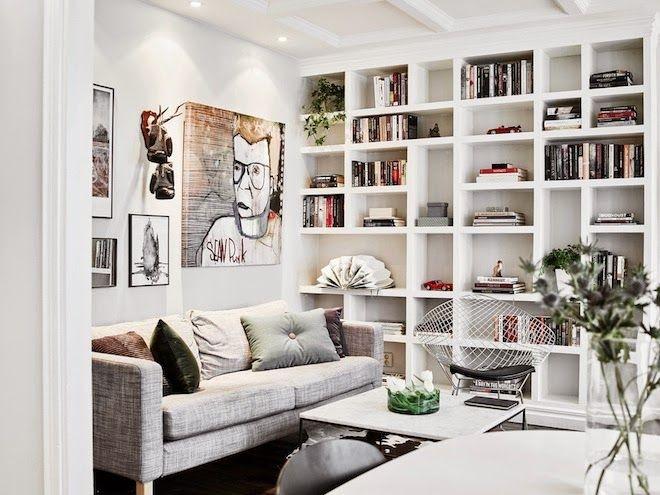 soggiorno libreria