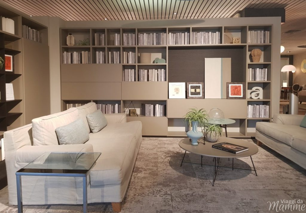 Librerie soggiorno moderno