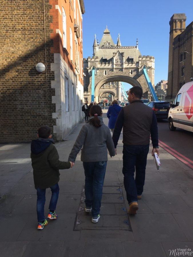 viaggio a Londra con bambini