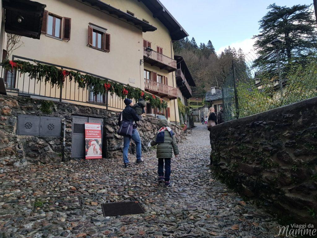 -strada che conduce a Villa Magdalena Gromo-