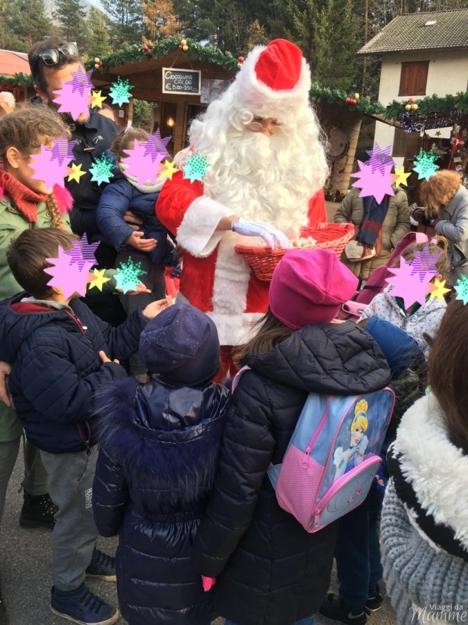 Mercatini di Natale in Lombardia con bambini Castione della Presolana