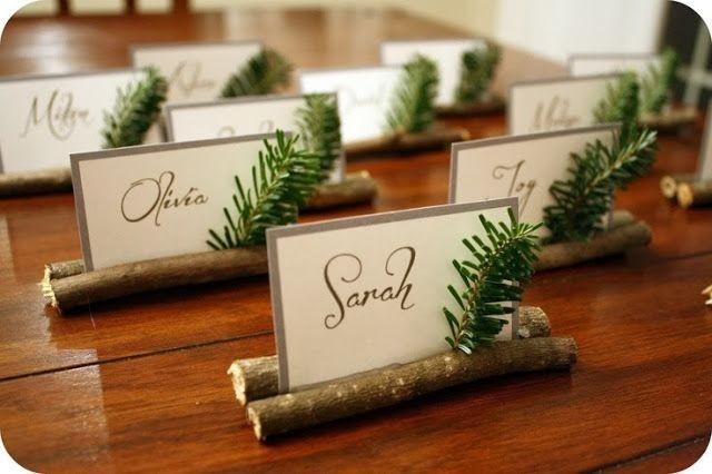 decorare tavola Natale
