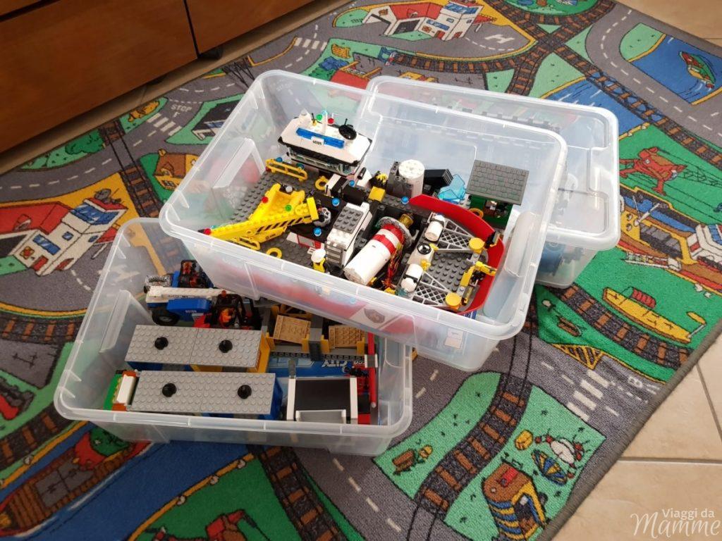Scatole trasparenti Ikea - i giochi di Andrea-