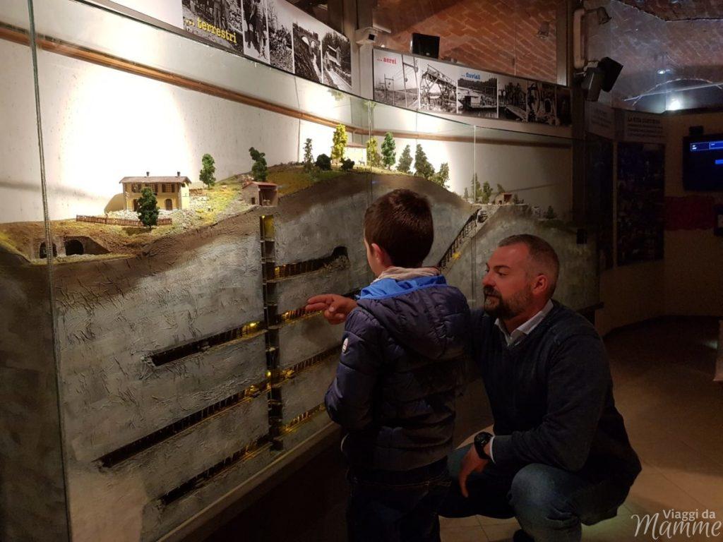 Le gallerie e i cunicoli nel sottosuolo di Coniolo