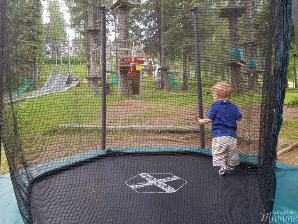 Pian dei Resinelli parco avventura