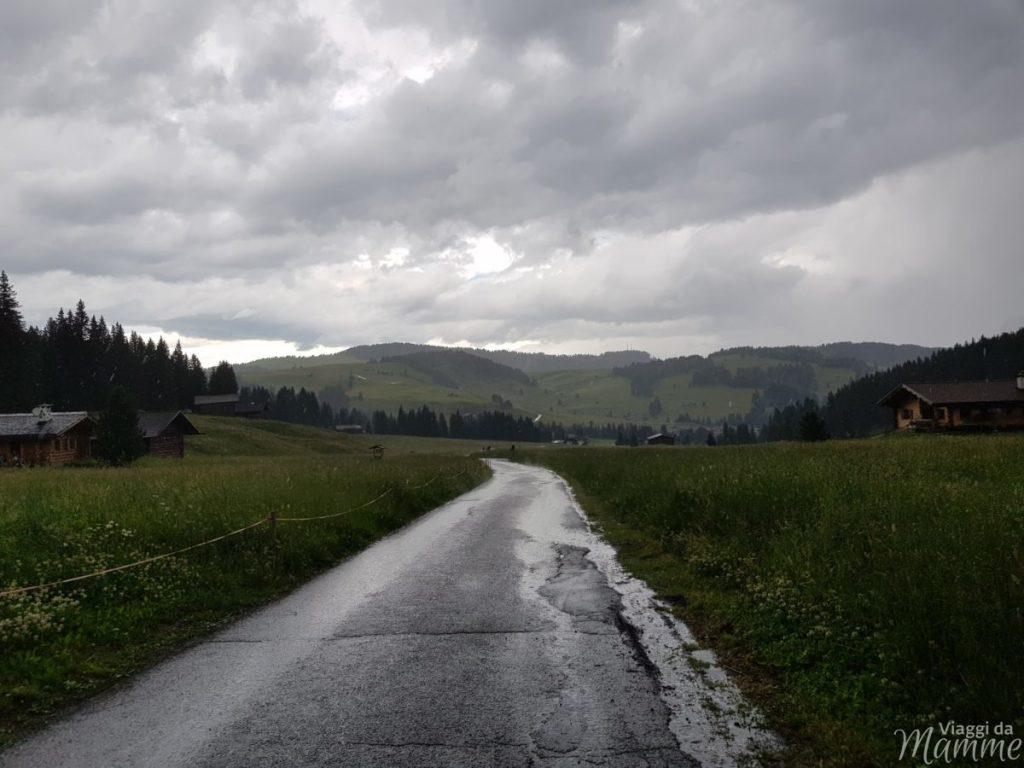 Vacanze in montagna con bambini senza rischi: consigli pratici -Rifugio Tirler, Saltria, Alpe di Siusi-