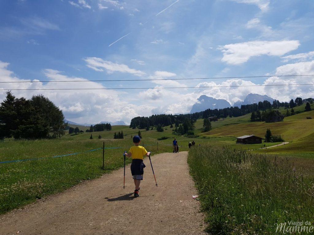 Alpe di Siusi escursioni facili