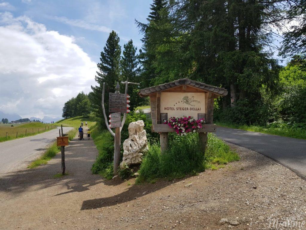 Alpe di Siusi estate: una giornata per malghe con bambini -bivio Saltria/Steger Weg-