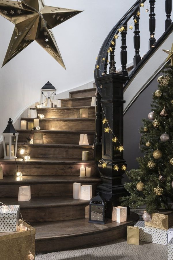 scale decorate per Natale