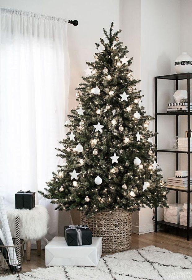 Alberi di Natale addobbati moderni