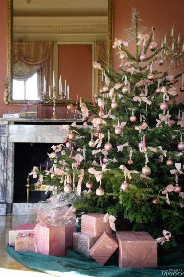 Alberi di Natale glamour