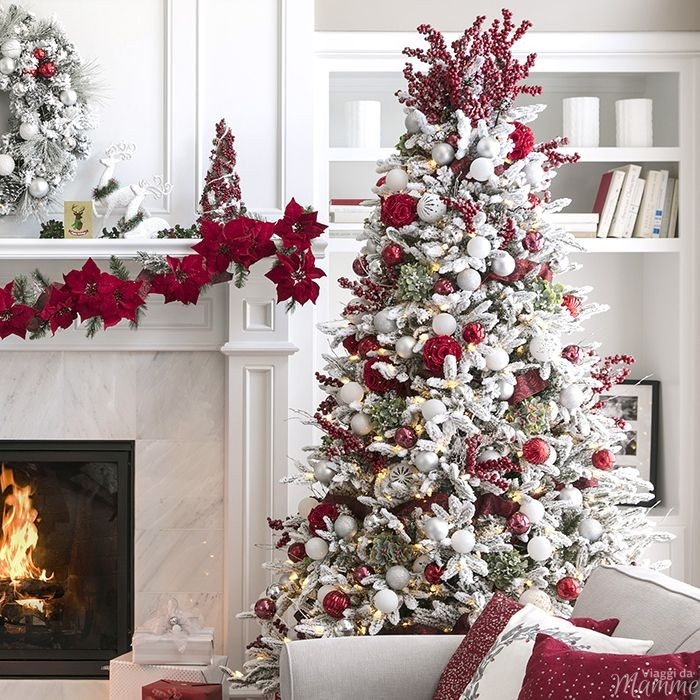 Alberi Di Natale Foto Addobbati.Come Addobbare L Albero Di Natale Per Renderlo Favoloso Viaggi Da Mamme