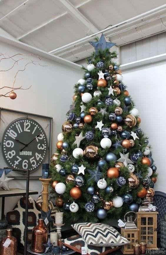 Idee per addobbare l albero di Natale
