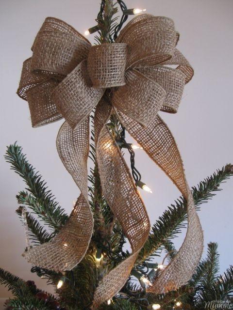 Albero di Natale prima luci o palline