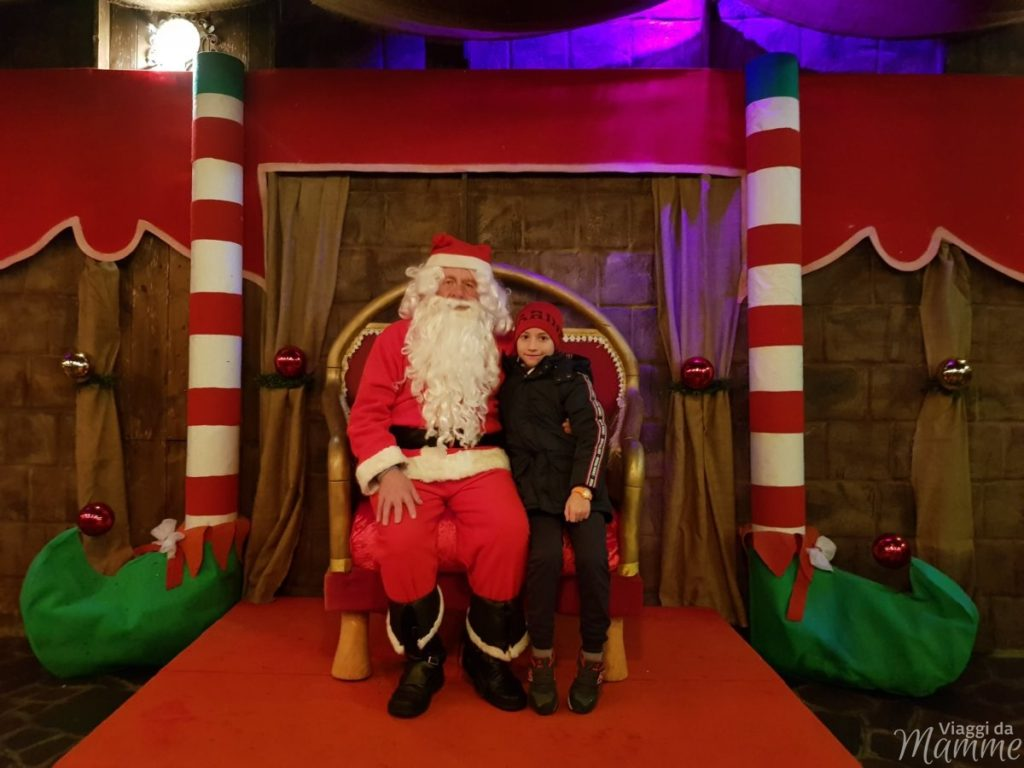 Babbo Natale ad Aquaneva