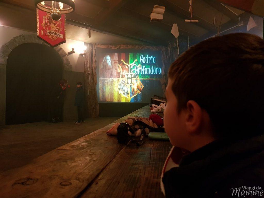 Gioco quiz a squadre all'interno del Castello di Hogwarts