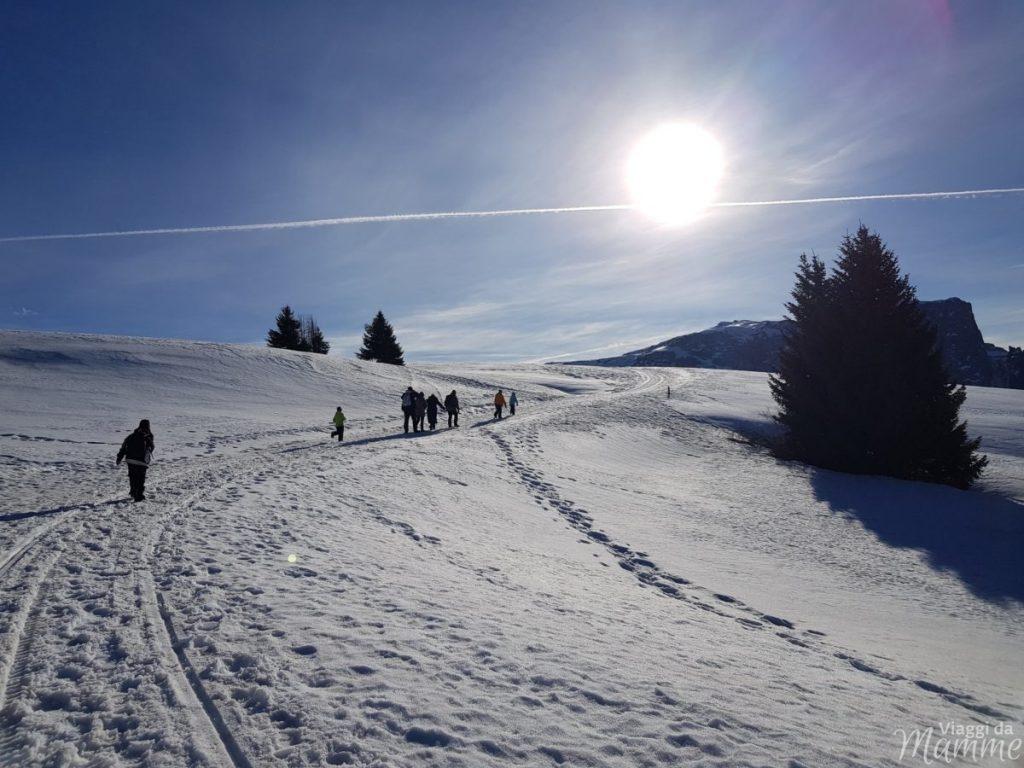 trekking invernale
