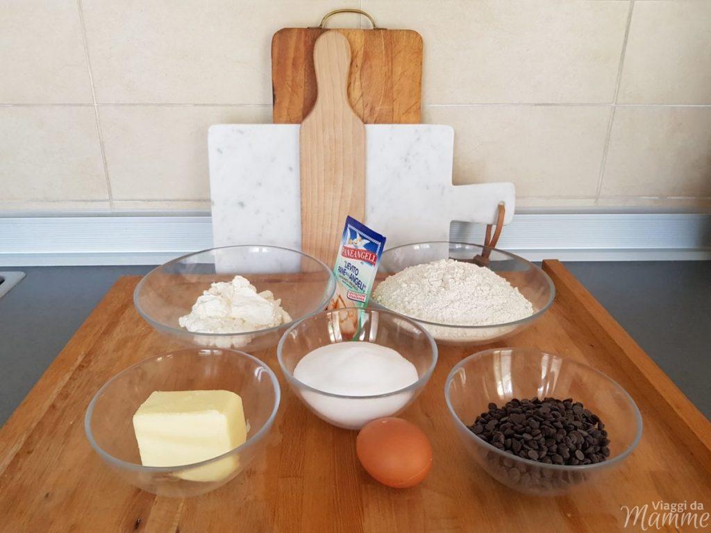 ricetta sbriciolata ricotta e cioccolato