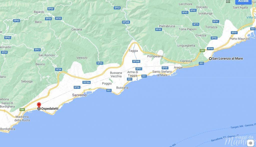 pista ciclabile Liguria