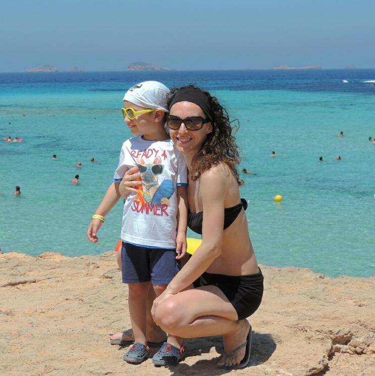 Vacanza ad Ibiza con bambini : consigli sulle spiagge da vedere e cosa fare -Cala Tarida-