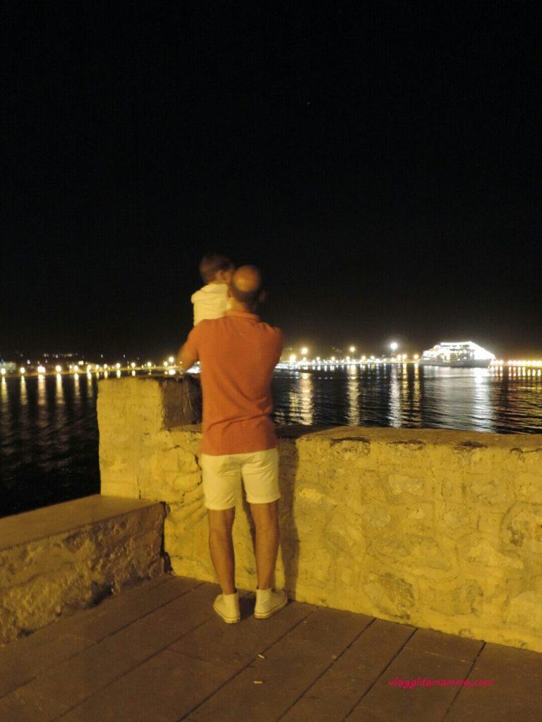 Vacanza a Ibiza con bambini : consigli sulle spiagge da vedere e cosa fare - vista sul porto-