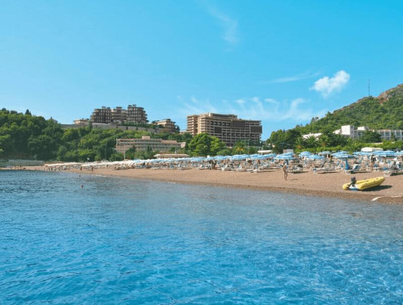 spiaggia di Becici