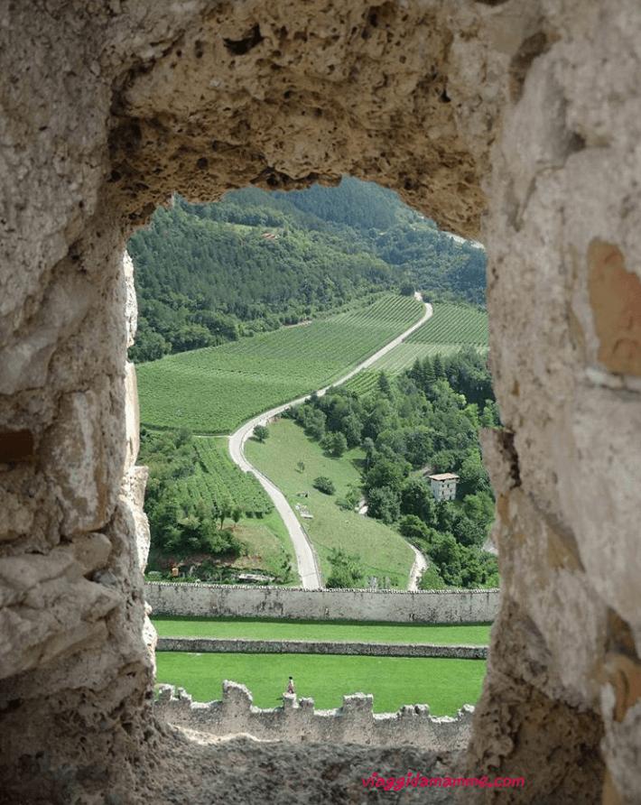 Castel Beseno il Trentino e i suoi castelli con i bambini foto 6