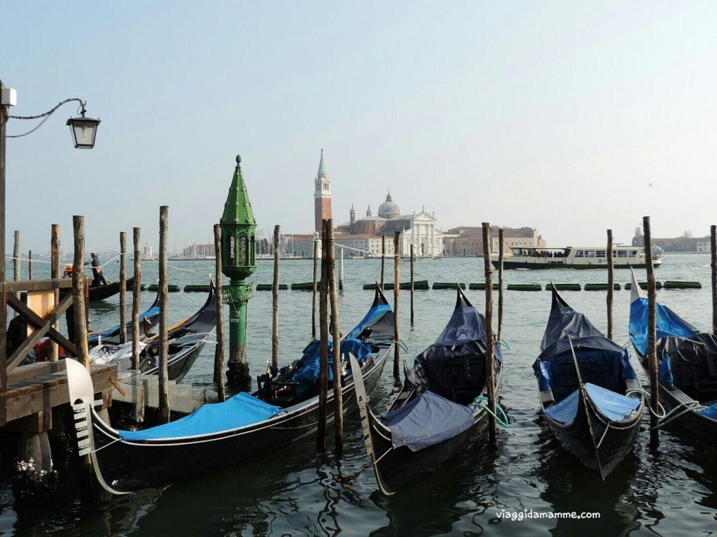 Cosa vedere a Venezia con i bambini in tre giorni - panorama sullo sfondo dell'Isola di San Giorgio -