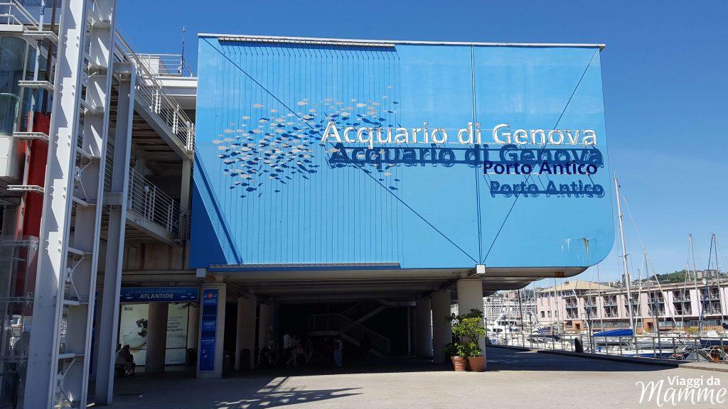 Visitare l'Acquario di Genova con i bambini - ingresso-