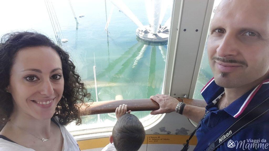 Visitare l'Acquario di Genova con i bambini - noi sul Bigo-