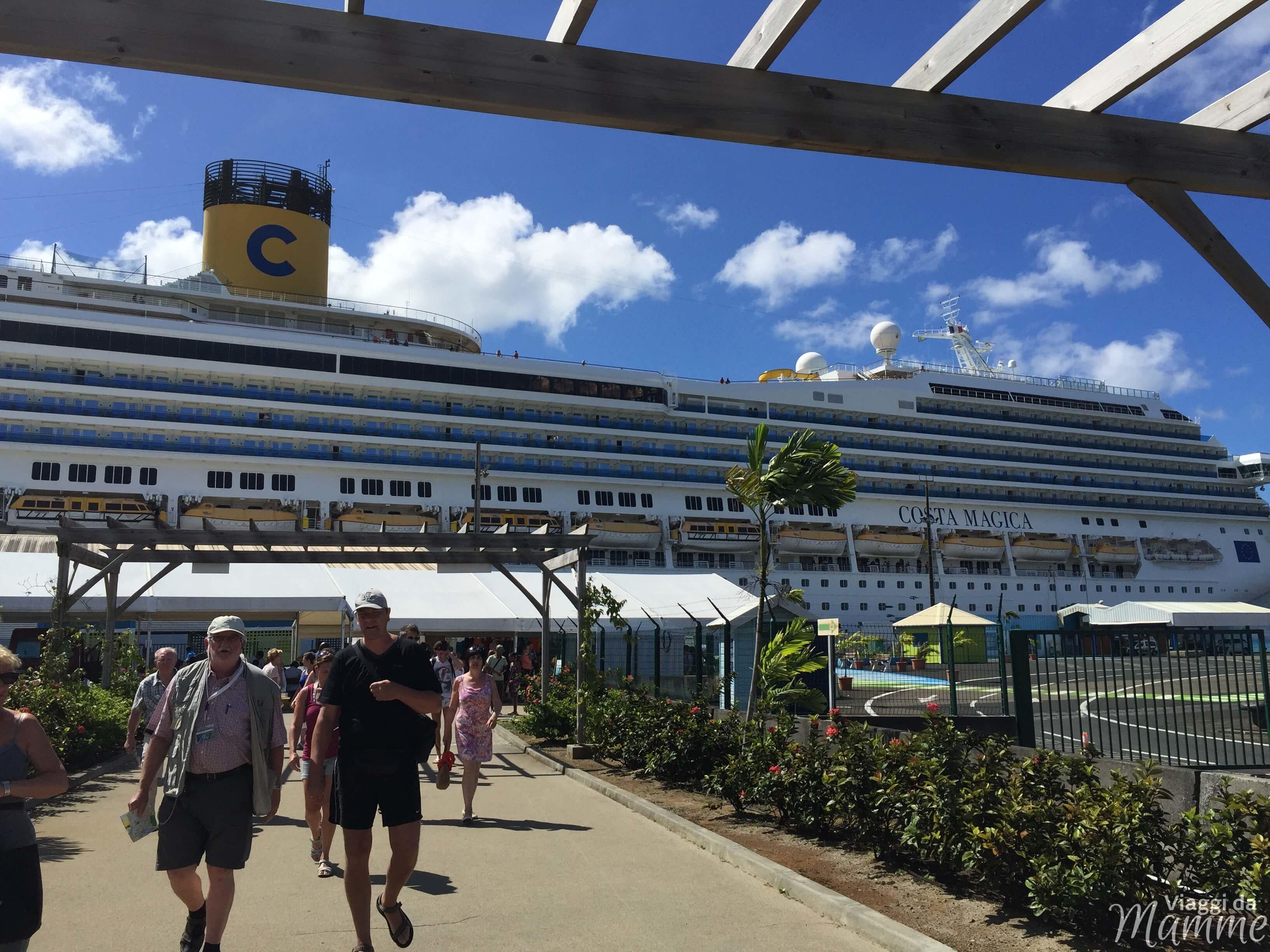 Crociera nel mar dei caraibi con bambini itinerario costa for Costa magica immagini