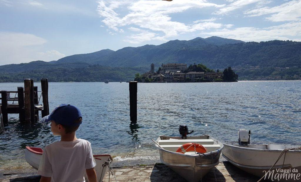 Gita al Lago d'Orta con bambini: Orta e Isola di San Giulio