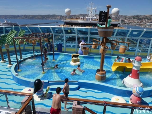 Crociera con bambini nel Mediterraneo con Costa Diadema