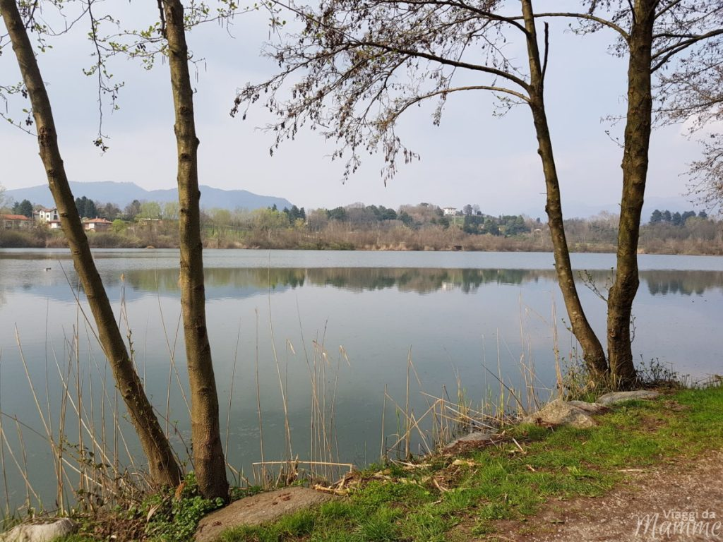 Gita fuori porta al Lago di Sartirana con bambini