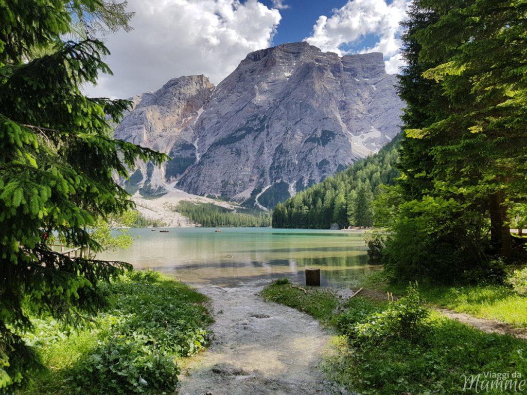 Alta Val Pusteria con bambini cosa fare e cosa vedere -Lago di Braies-