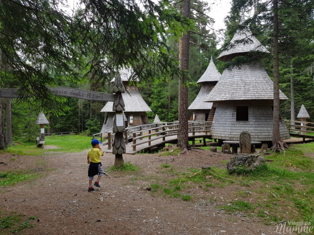 Alta Val Pusteria con bambini cosa fare e cosa vedere -Villaggio degli Alberi-