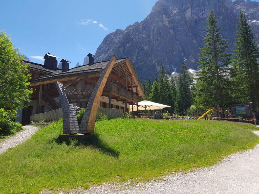 Alta Val Pusteria con bambini: cosa fare e cosa vedere -Rifugio Fondovalle Val Fiscalina-
