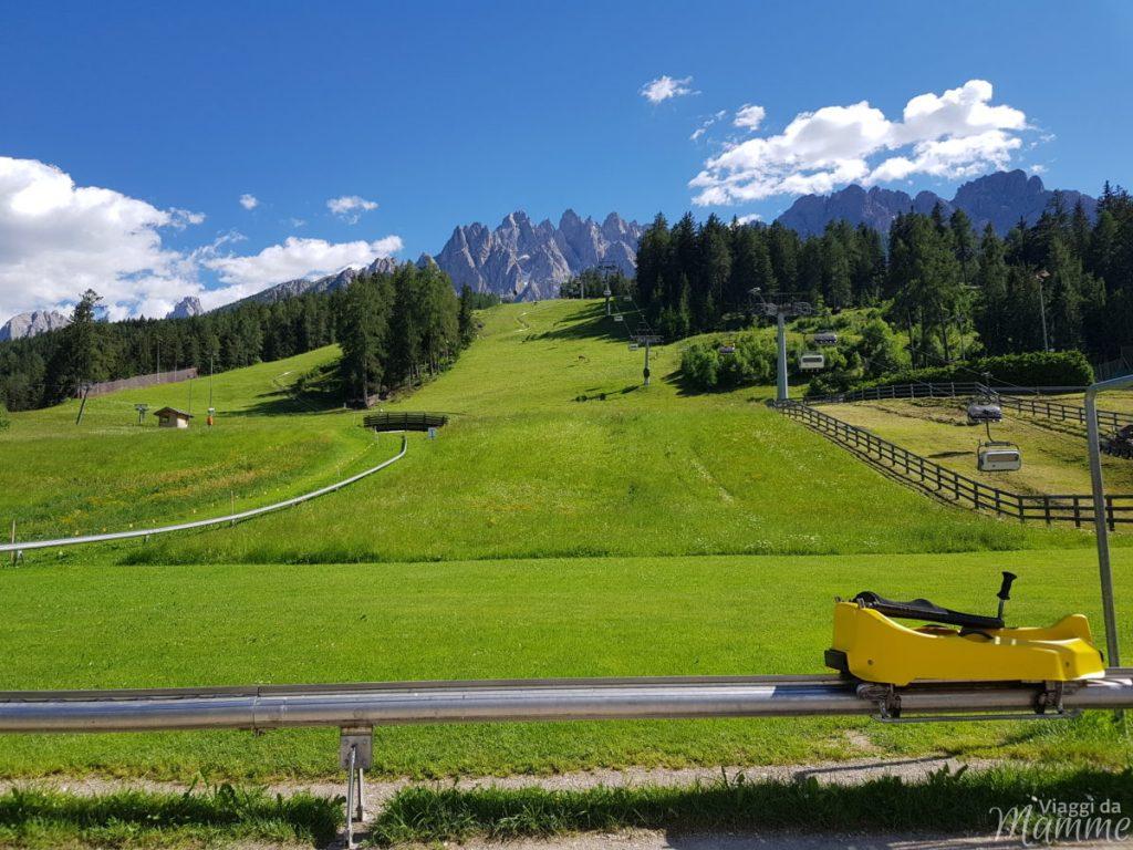 Alta Val Pusteria con bambini: cosa fare e cosa vedere -Fun Bob al Monte Baranci-
