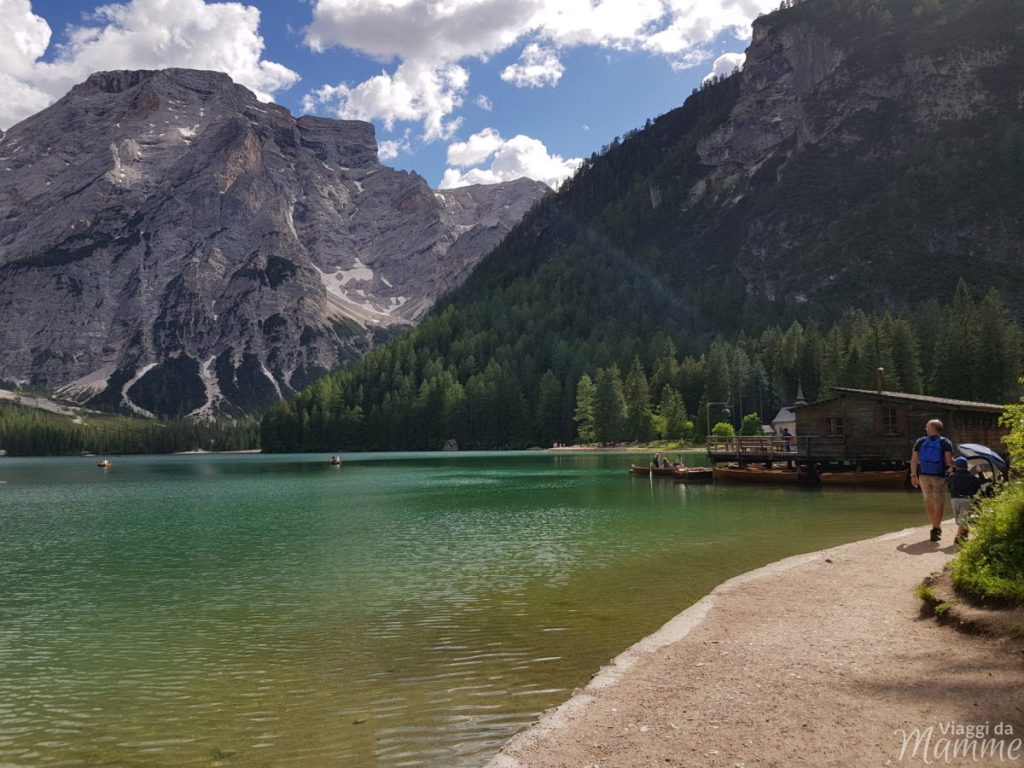 Giro del Lago di Braies con bambini: che meraviglia!