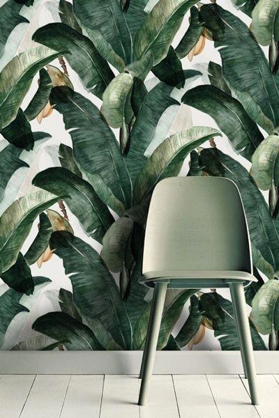 Rinnovare e abbellire casa con la carta da parati -Foto fonte Pinterest-