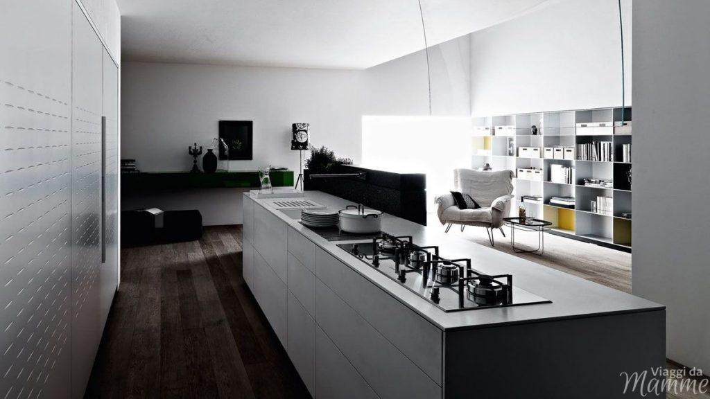 Come scegliere la cucina ideale -cucina composizione isola- Fonte Pinterest