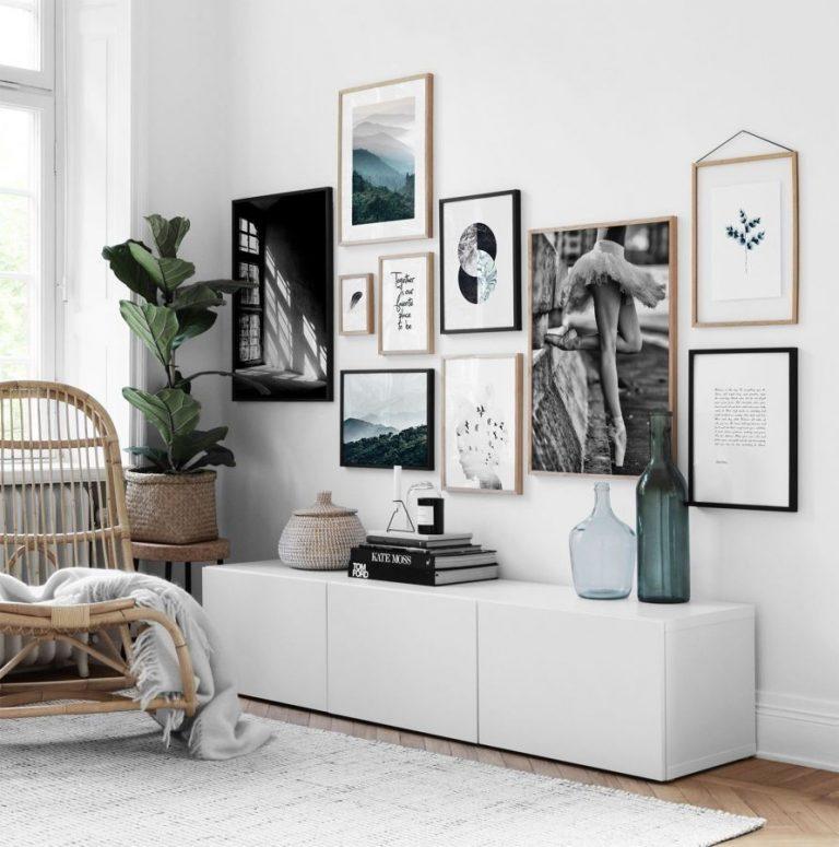 Come appendere i quadri in modo originale - VIAGGI DA MAMME