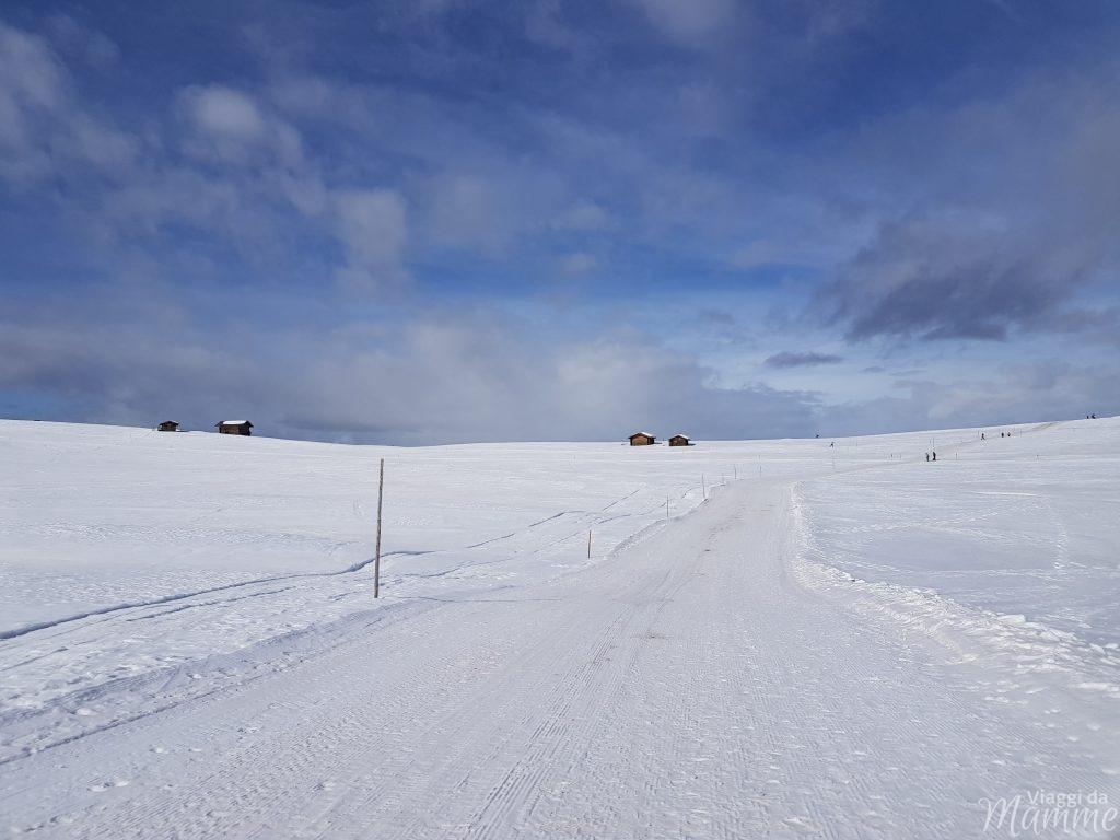 Alpe di Siusi neve